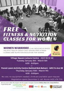 Women Warriors - Free fitness and nutrition classes for women @ Village Square Leisure Centre