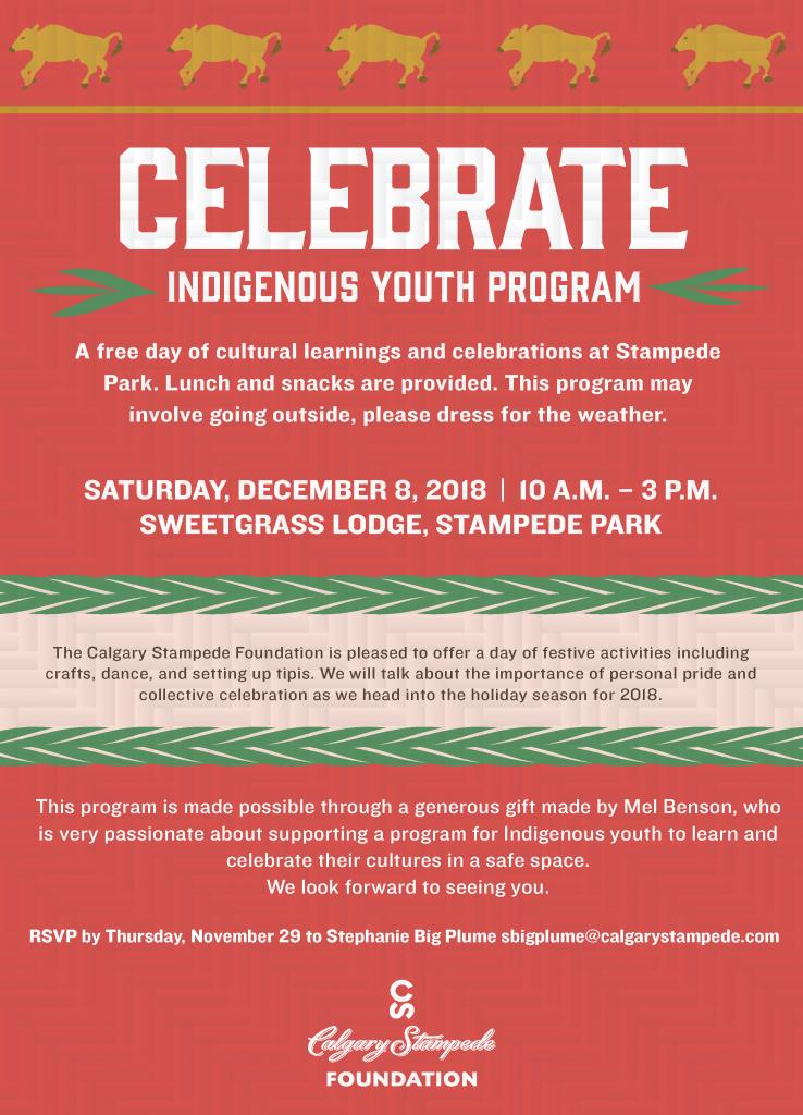 Celebrate Indigenous Youth Program Gt Sisn