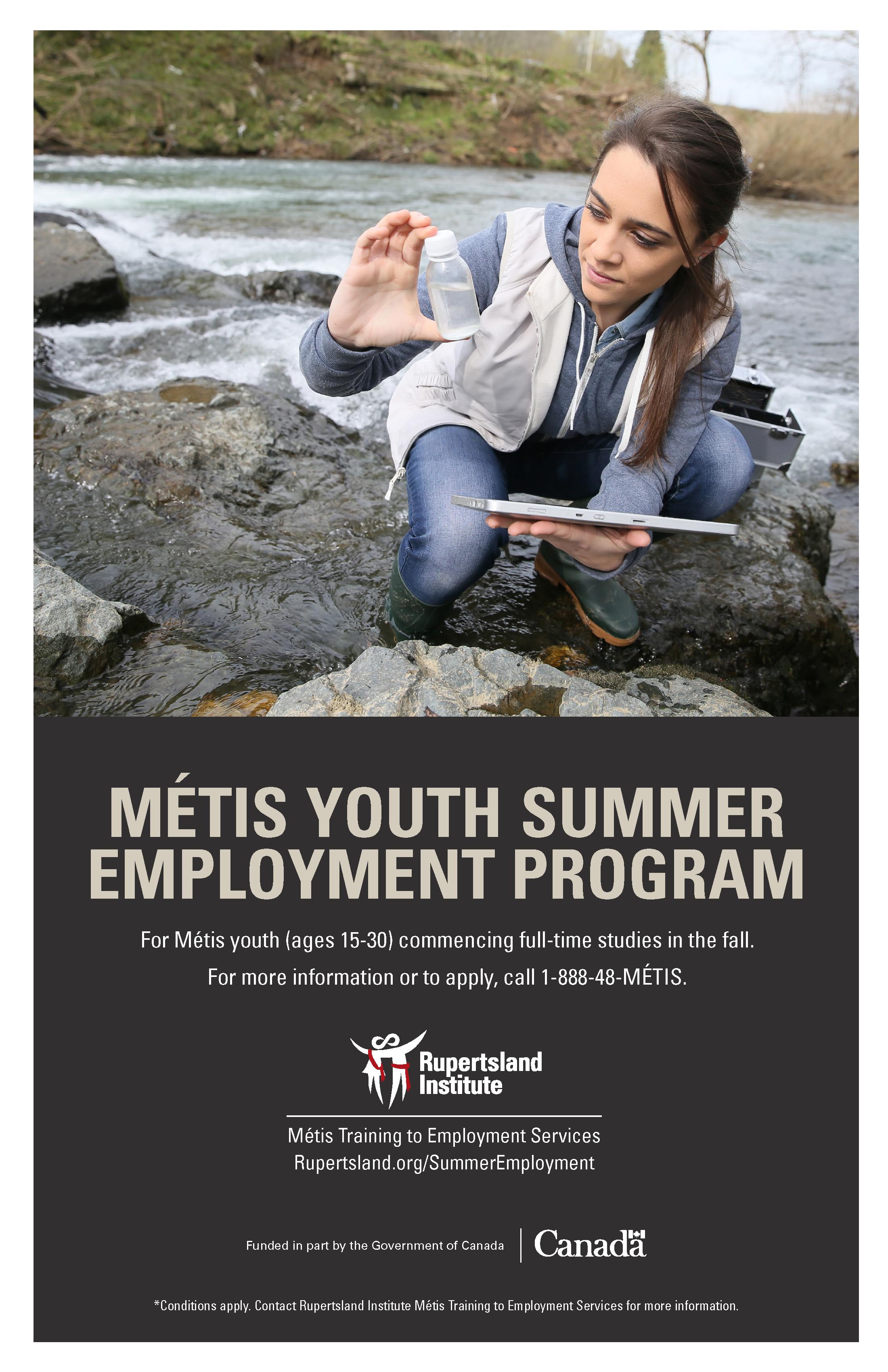 MÉTIS YOUTH SUMMER EMPLOYMENT PROGRAM